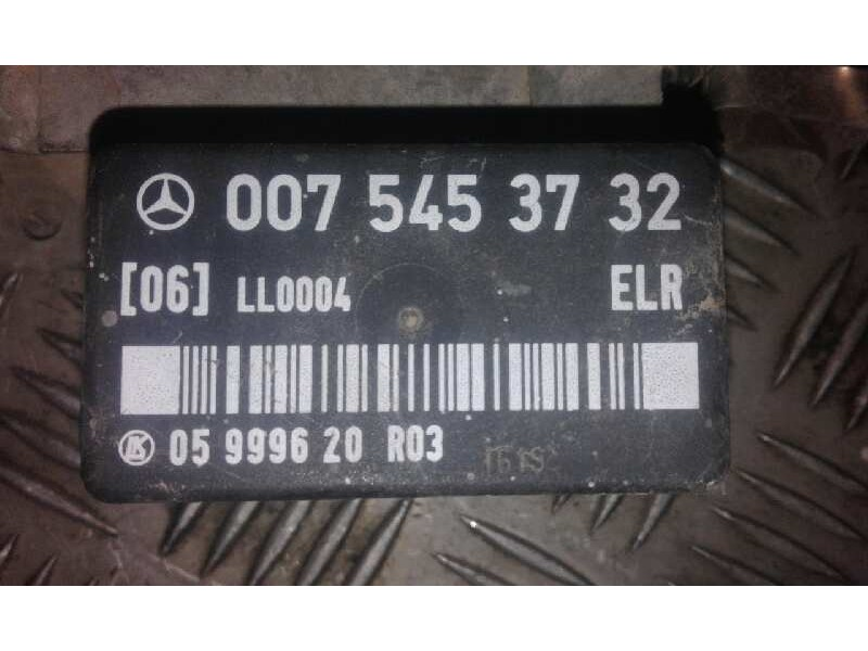 Recambio de modulo electronico para mercedes clase e (w124) berlina d 250 (124.125)   |   02.89 - ... | 1989 | 94 cv / 69 kw ref